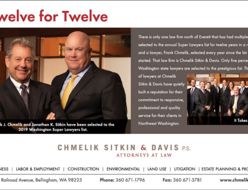 Chmelik & Sitkin selected to 2019 WA Super Lawyers list